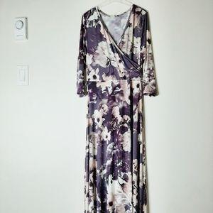 Pinkblush Dresses - Floral print maxi dress